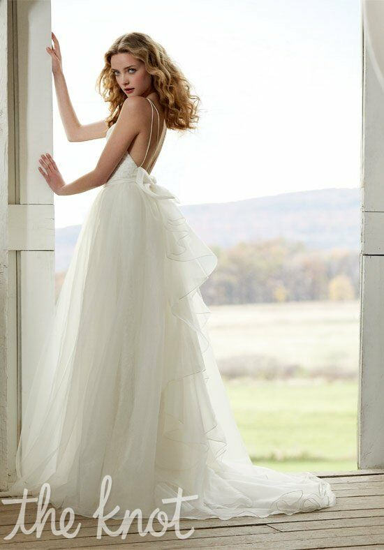 Blush by Hayley Paige 1201 Sheath Wedding Dress