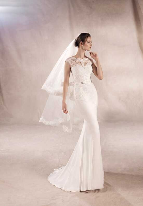 WHITE ONE YURIANA Mermaid Wedding Dress