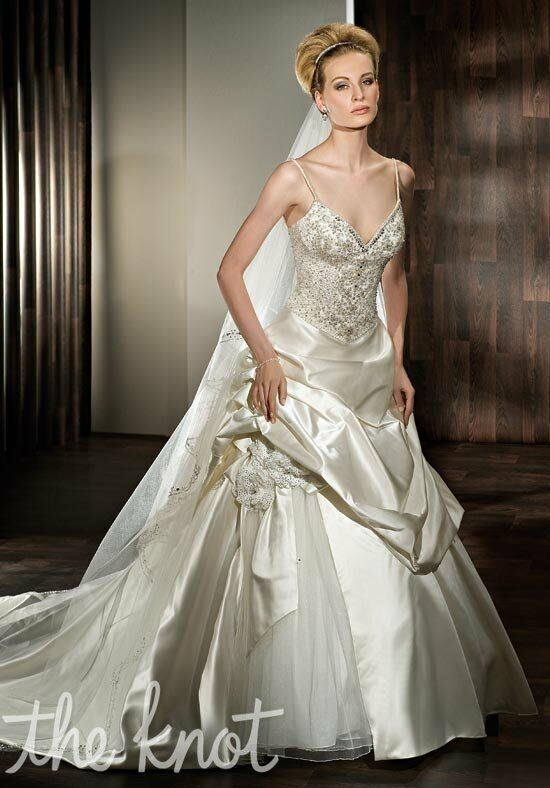 Demetrios 2845 A-Line Wedding Dress