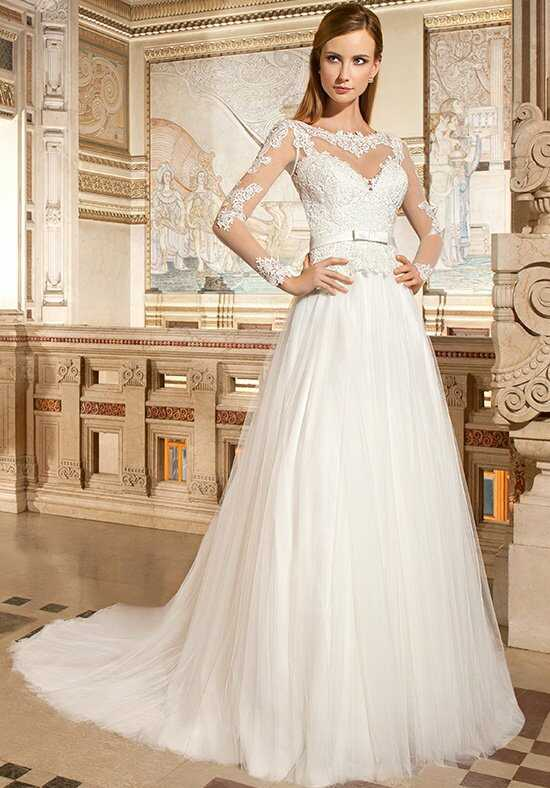 Demetrios GR269 A-Line Wedding Dress