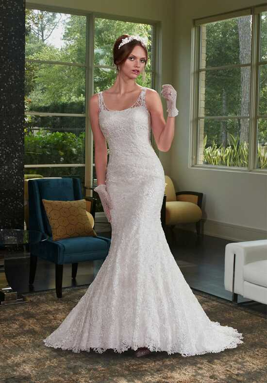 1 Wedding by Mary's Bridal 6410 Mermaid Wedding Dress