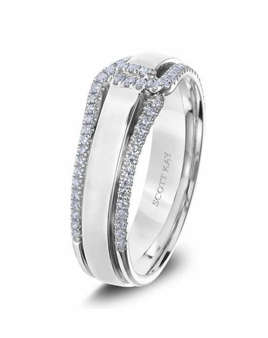 Scott Kay G4095RBV6 Platinum Wedding Ring
