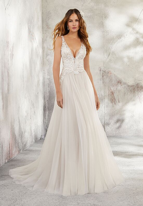 Morilee by Madeline Gardner/Blu 5681 / Leonita A-Line Wedding Dress