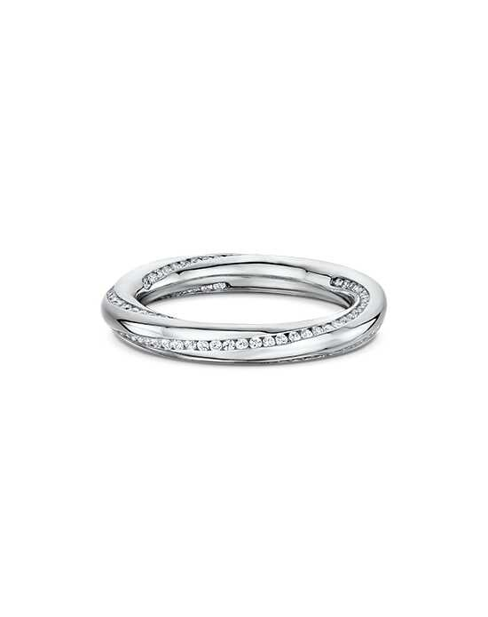 "Say ""I do!"" in Platinum Dora International Women's Wedding Band-340B00G Platinum Wedding Ring"