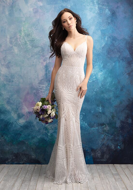 Allure Bridals 9564 Sheath Wedding Dress