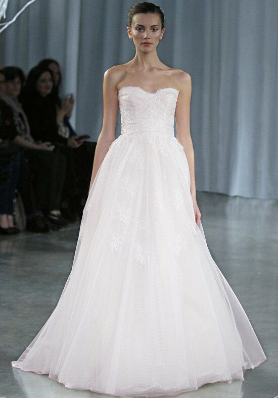 Monique Lhuillier Darling Ball Gown Wedding Dress