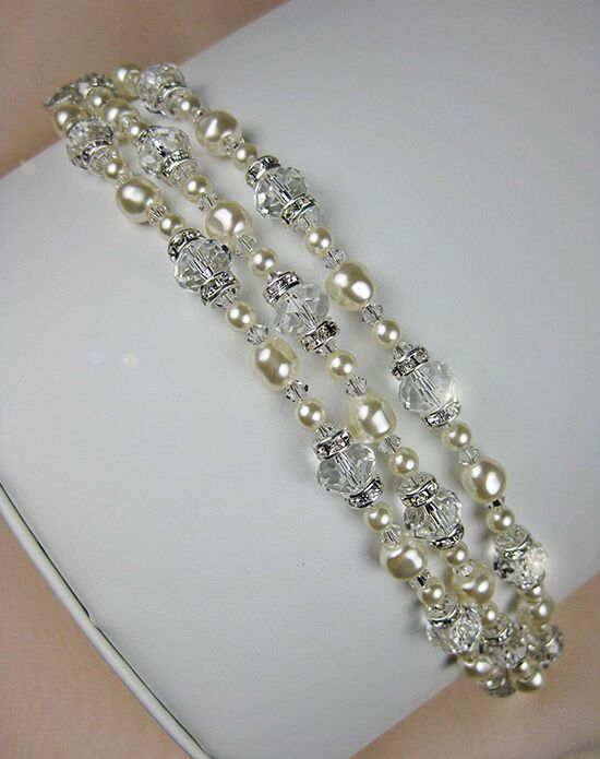 Everything Angelic Ingrid 3 Strand Bracelet - b182 Wedding Bracelet photo