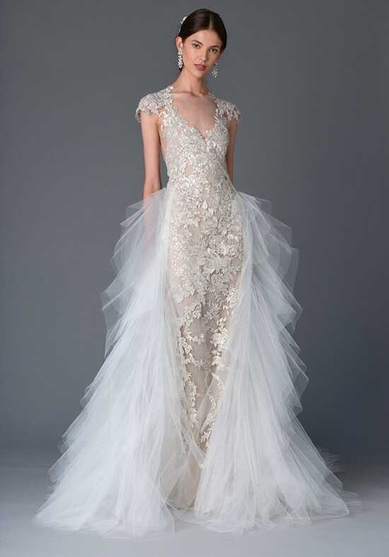 Marchesa Silene Sheath Wedding Dress