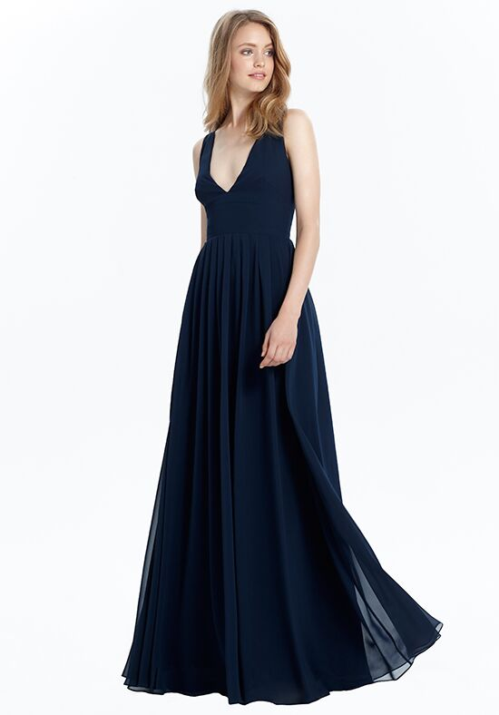 Monique Lhuillier Bridesmaids 450459 Halter Bridesmaid Dress