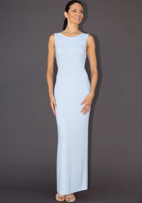 Grayse Wedding Party W1411018-Ice Blue Black Mother Of The Bride Dress