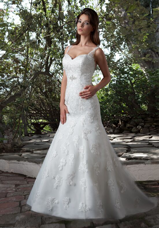 1 Wedding by Mary's Bridal 6521 Mermaid Wedding Dress