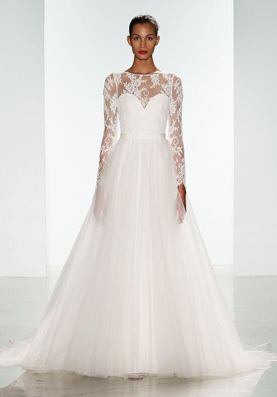Nouvelle amsale noelle with kelsey overskirt wedding dress for Nouvelle amsale wedding dress