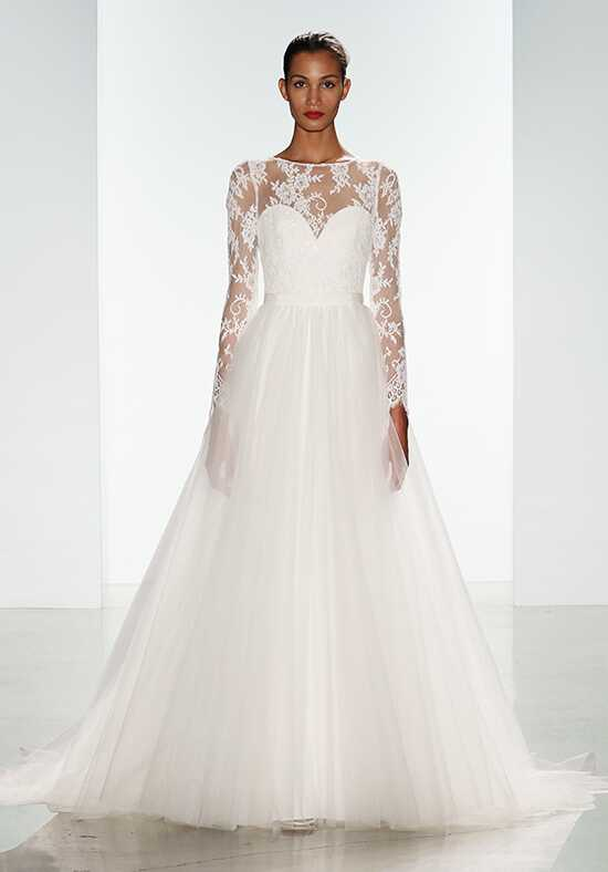 Nouvelle Amsale Noelle with Kelsey Overskirt Ball Gown Wedding Dress