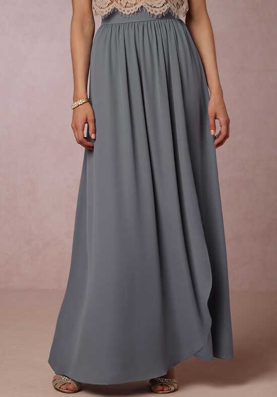 BHLDN (Bridesmaids) Jane Skit - Steel Bridesmaid Dress photo