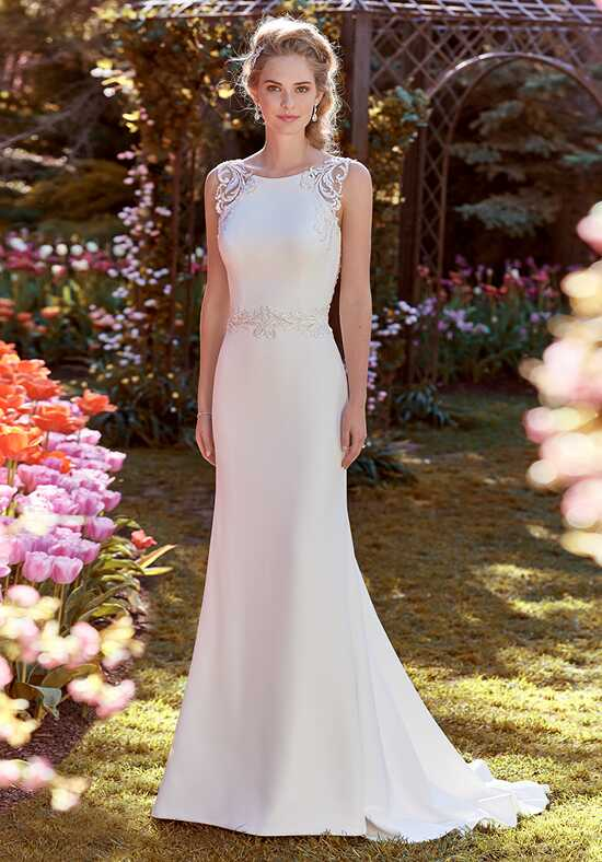 Rebecca Ingram Ada Sheath Wedding Dress