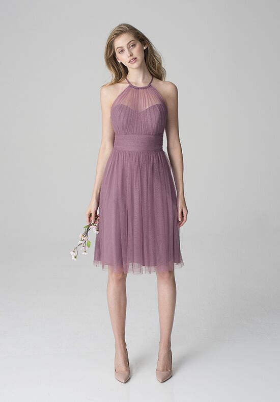 Bill Levkoff 1254 Halter Bridesmaid Dress