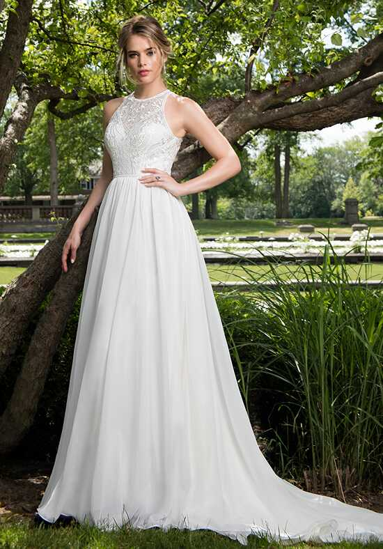 Mary's Bridal Moda Bella MB2012 A-Line Wedding Dress