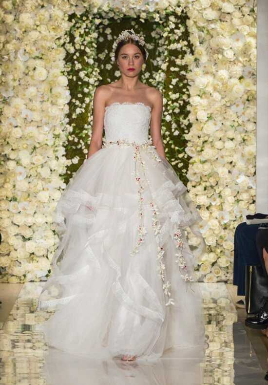 Reem Acra I'm Breathtaking Ball Gown Wedding Dress