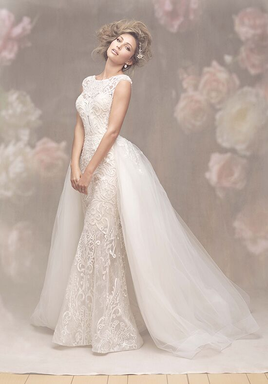 Allure sheath wedding dress 2018 fall season