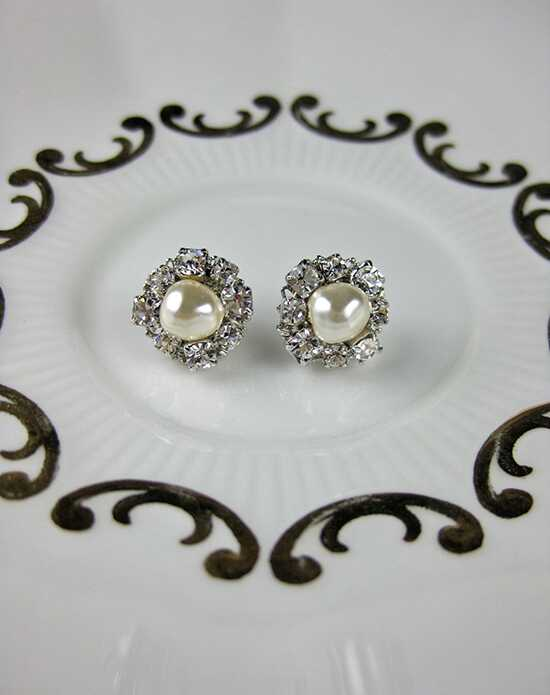 Everything Angelic Claire Post Earrings - e357 Wedding Earring photo
