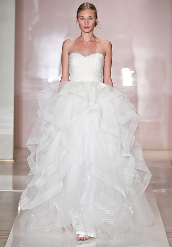 Reem Acra 5017 Ball Gown Wedding Dress