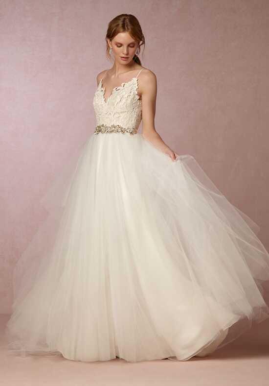 bhldn hayden gown ball gown wedding dress