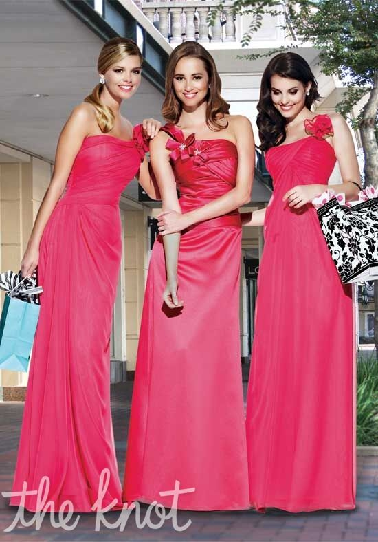 Impression Bridesmaids 20001/20013/20009 One-Shoulder, Square, Sweetheart Bridesmaid Dress