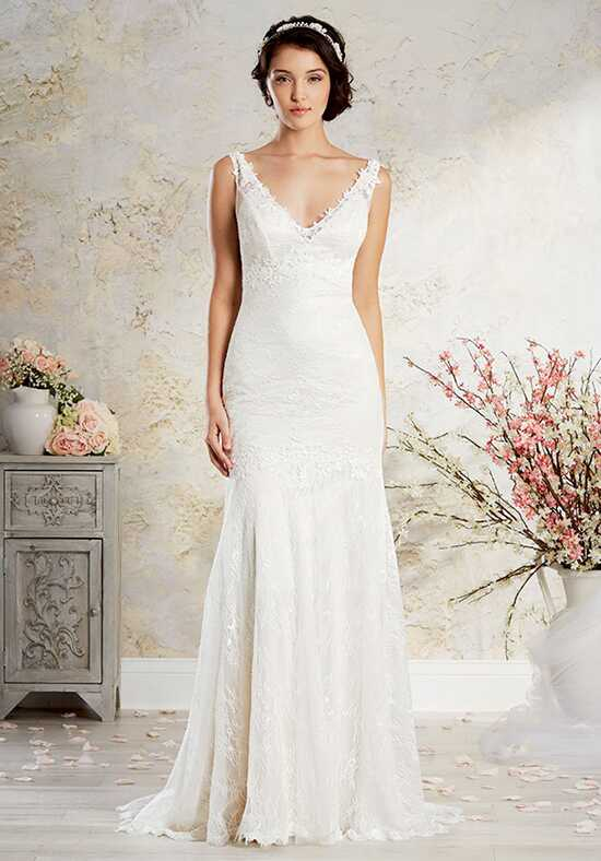 Alfred Angelo Modern Vintage Bridal Collection 8567 Sheath Wedding Dress