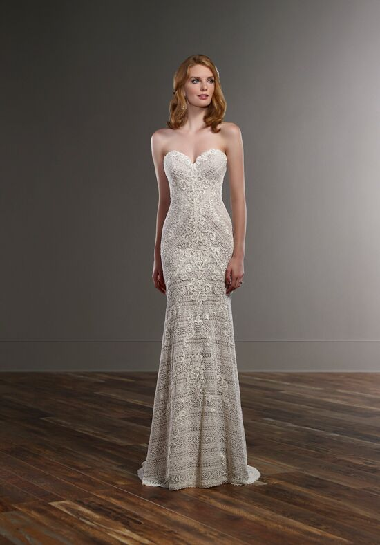 Martina Liana 772 Sheath Wedding Dress