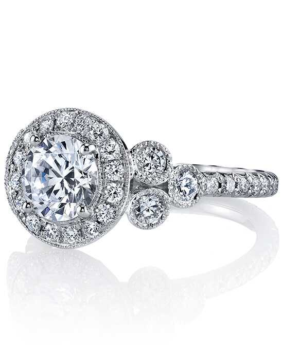 Erica Courtney Gorgeous & Engaged Elegant Round Cut Engagement Ring