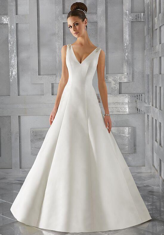 A Lined Wedding Dress