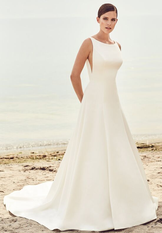 Mikaella 2115 A-Line Wedding Dress