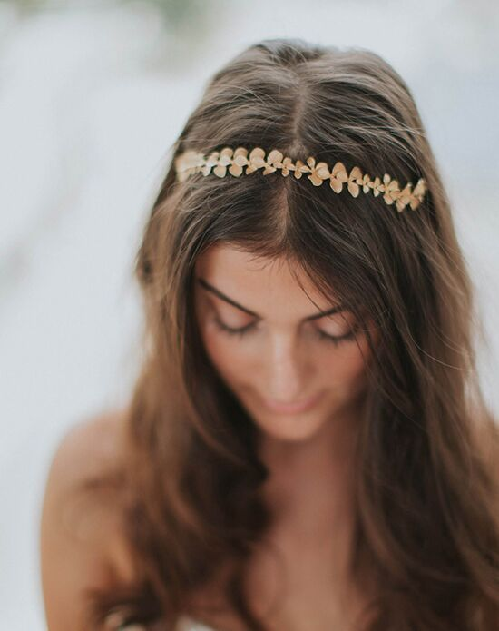 Davie & Chiyo | Hair Accessories & Veils Gilded Orchid Hair Vine Gold, Silver Headband