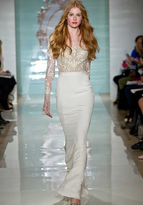 Reem Acra Fabulous Girl Mermaid Wedding Dress