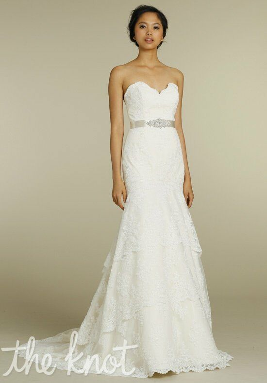 Tara Keely by Lazaro 2206 Sheath Wedding Dress