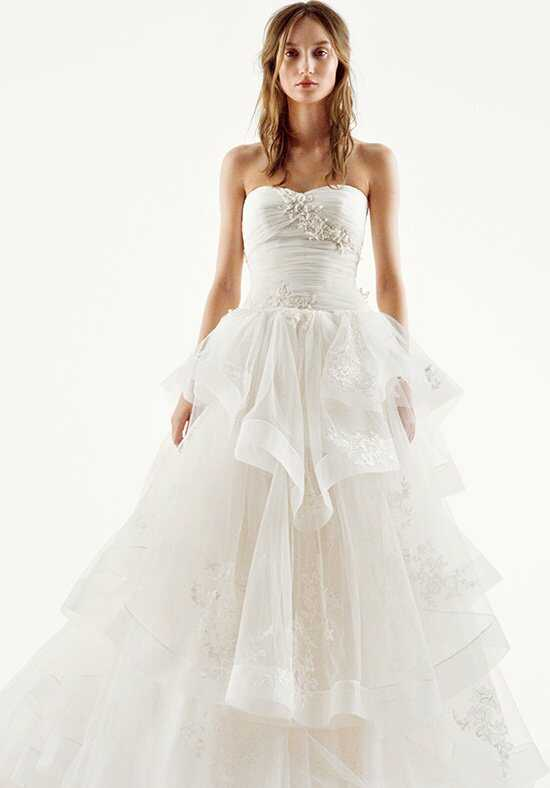 White by Vera Wang White by Vera Wang Style VW351197 Ball Gown Wedding Dress