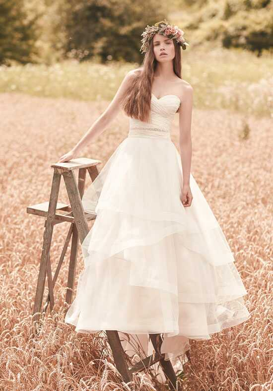 Mikaella 2070 A-Line Wedding Dress