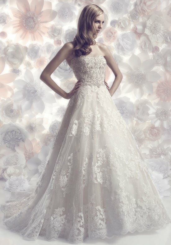 Cb couture b098 wedding dress the knot for Cb couture wedding dresses