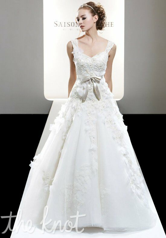 Saison Blanche Couture 4196 Ball Gown Wedding Dress