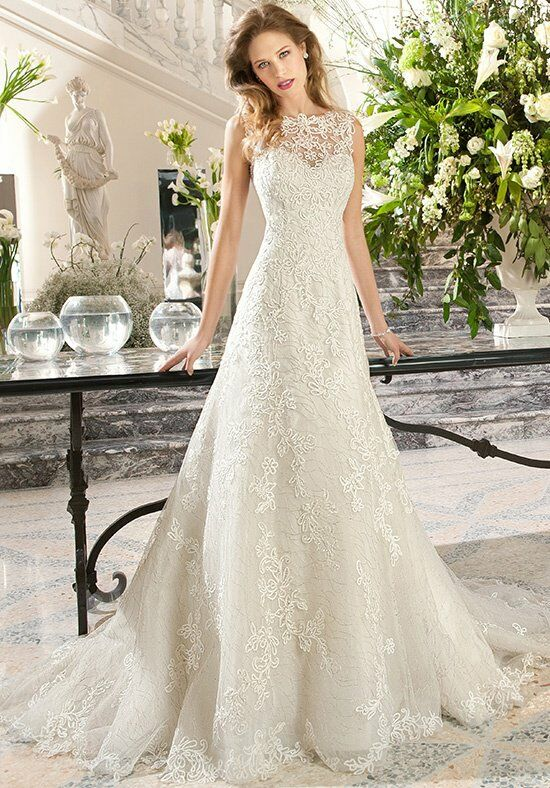 Demetrios C212 A-Line Wedding Dress
