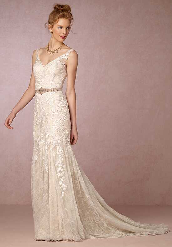 BHLDN Elisha Sheath Wedding Dress