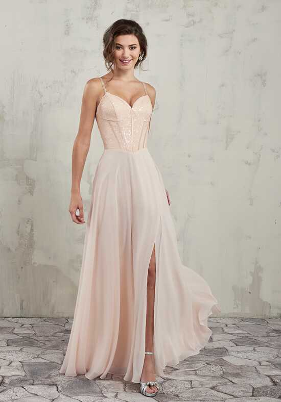 Amalia by Mary's Bridal MB7017 Sweetheart Bridesmaid Dress