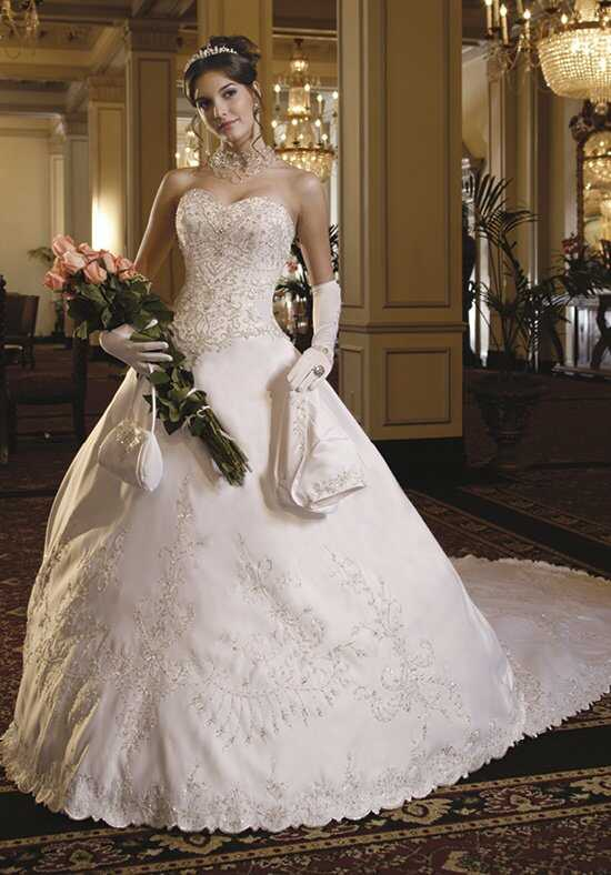 1 Wedding by Mary's Bridal 5753 A-Line Wedding Dress
