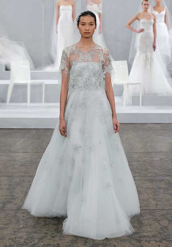 Monique Lhuillier Elsa A-Line Wedding Dress