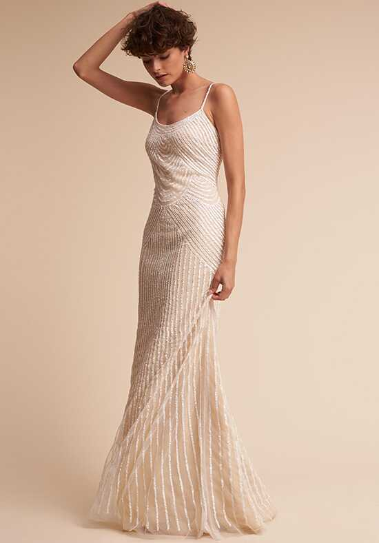 BHLDN Stasia Sheath Wedding Dress