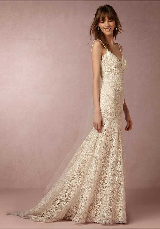 BHLDN Elise Gown Mermaid Wedding Dress