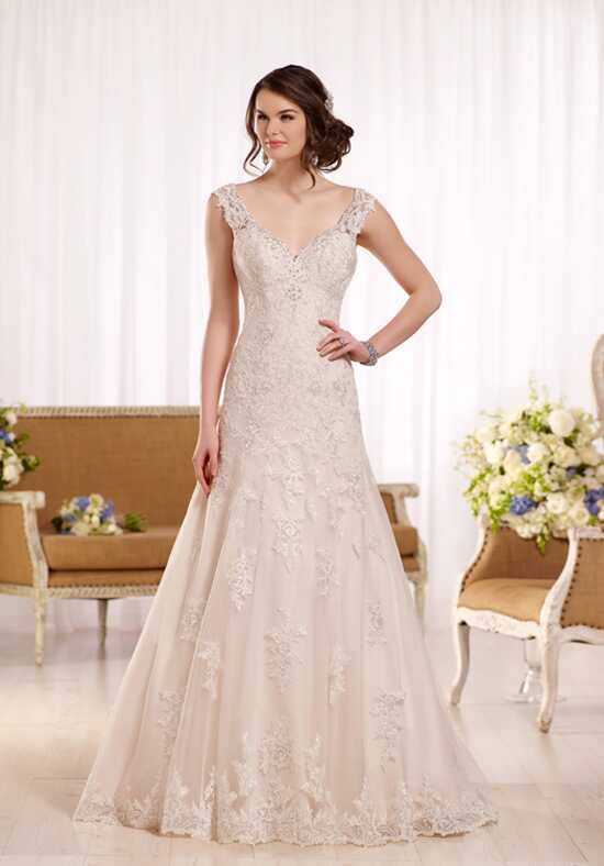 Essense of Australia D2167 A-Line Wedding Dress