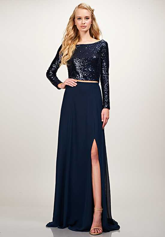 THEIA Bridesmaids Blakely Top Bateau Bridesmaid Dress