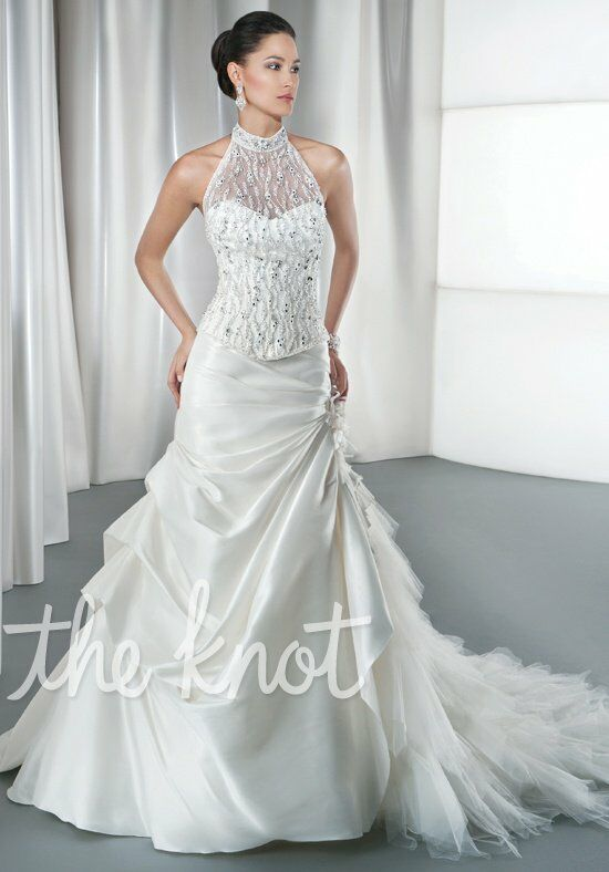 Demetrios 2860 A-Line Wedding Dress