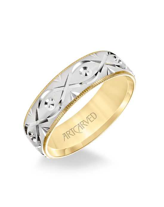 ArtCarved 11-WV8876YW7 Gold Wedding Ring